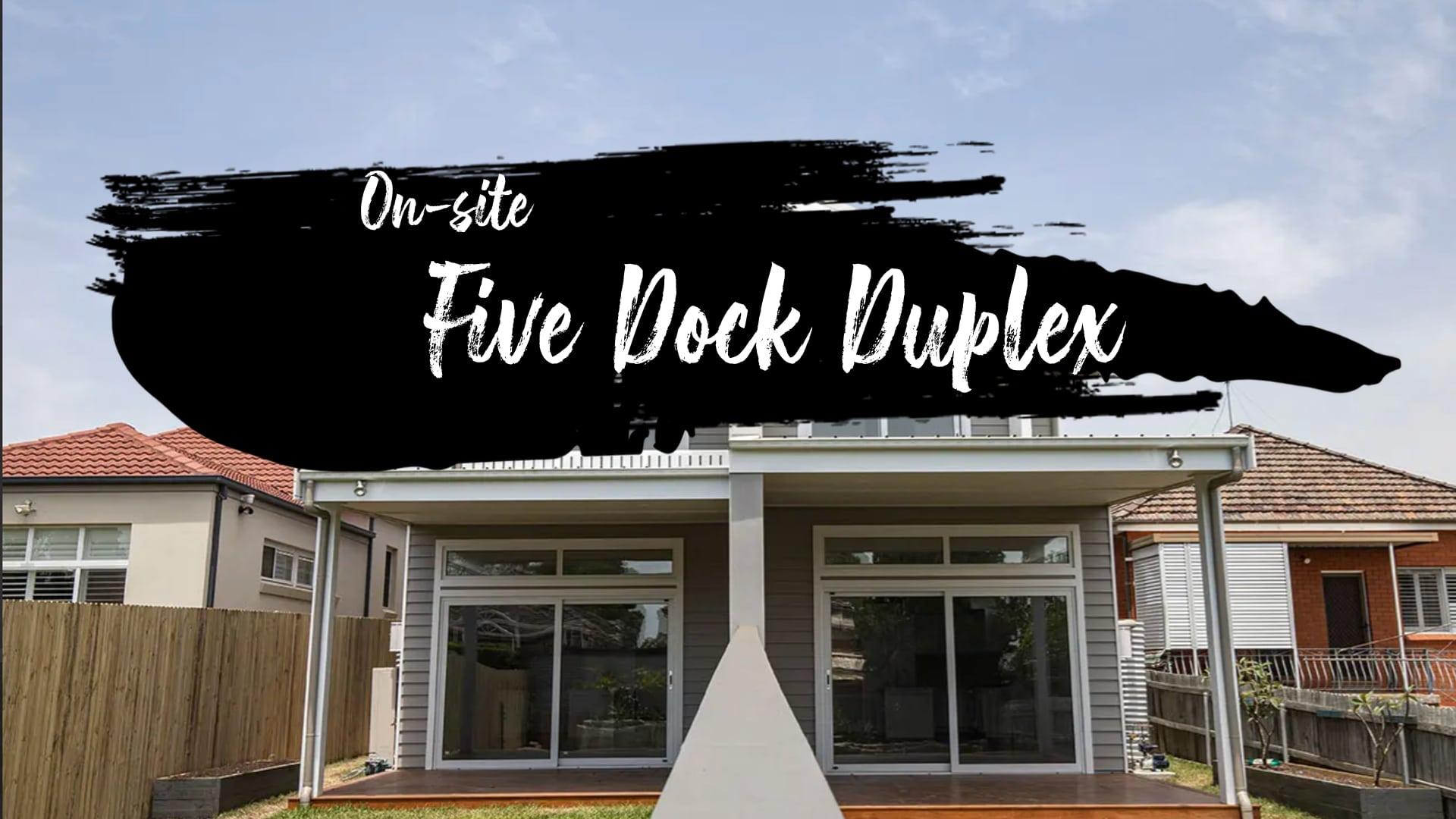 Five dock duplex